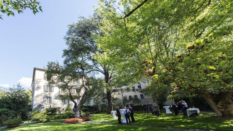 Sion: les jardins de la Préfecture, une oasis de calme pour le public cet été