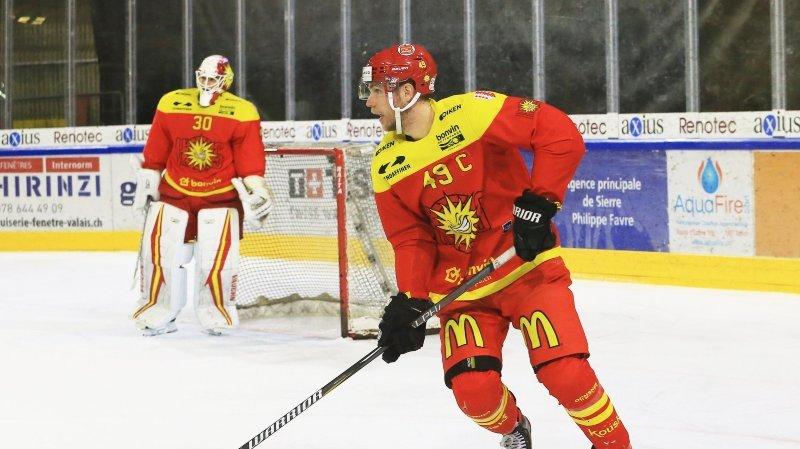 Hockey: le Sierrois Maxime Montandon est courtisé par Bienne en National League