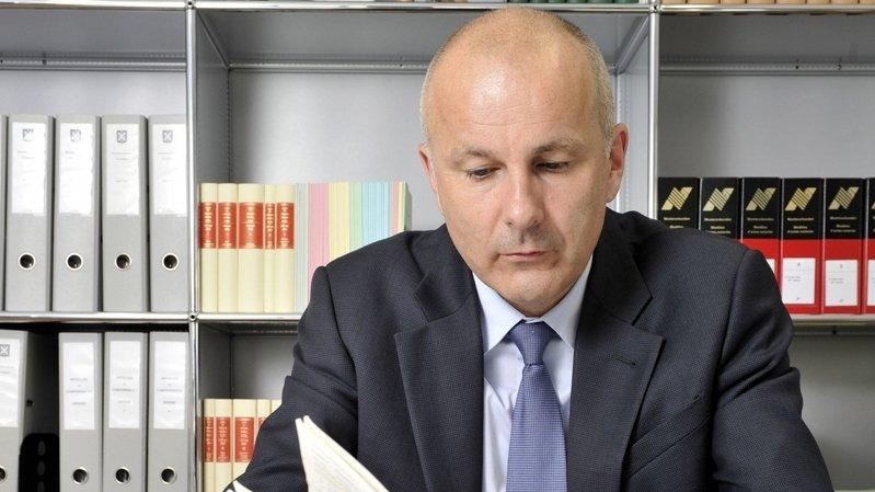 Valais: Nicolas Dubuis réélu de justesse comme procureur général