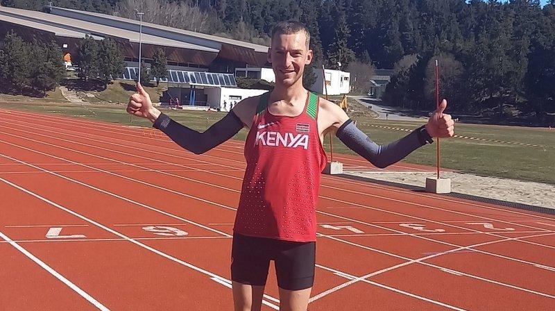 Le coureur anniviard Alexandre Jodidio continue son tour d'Europe