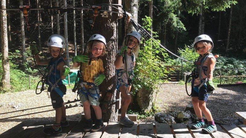 Champéry: l'Organic Adventure Park trouve un deuxième souffle