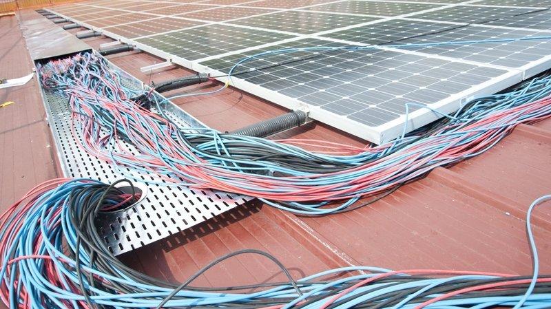 Collombey-Muraz: achat groupé de panneaux solaires