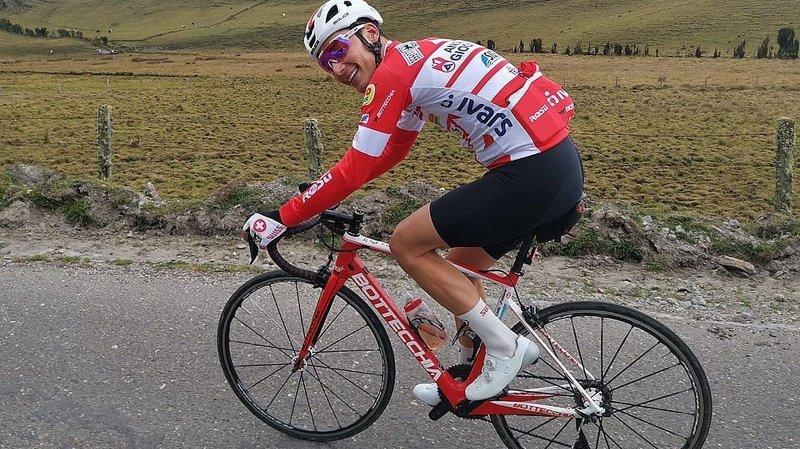 Cyclisme: «J'avais pourtant prévu de rester tranquille», sourit Simon Pellaud