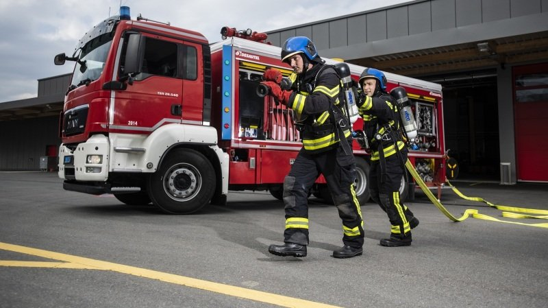Monthey: les sapeurs-pompiers de CIMO officiellement reconnus par leurs pairs