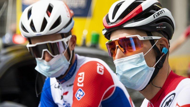 Cyclisme: Sébastien Reichenbach et Simon Pellaud comptent bien prendre leur chance lors du Giro