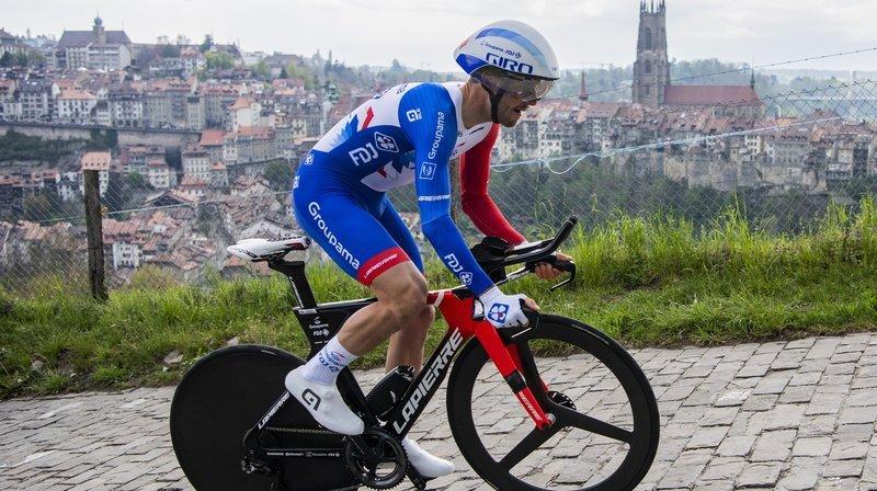 Cyclisme: Sébastien Reichenbach et Simon Pellaud plutôt satisfaits de leur boucle romande