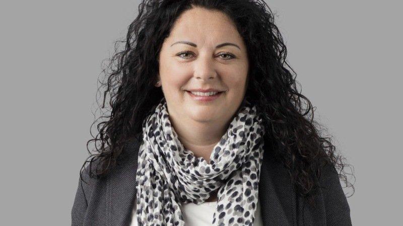 La nouvelle présidente de Naters, Charlotte Salzmann-Briand.