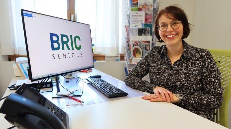 Stéphanie Berrut est la répondante pour le bureau régional BRIC Seniors de Monthey.