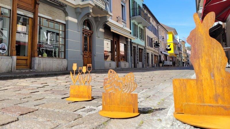 Les participants devront retrouver dix figurines cachées dans la ville.