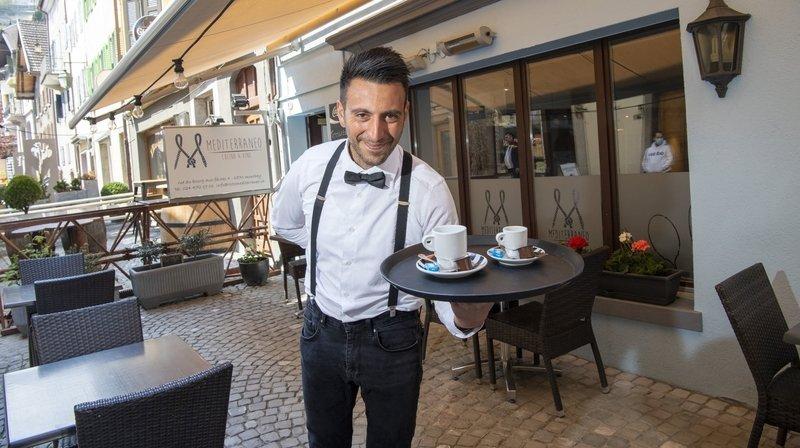 Ouverture des terrasses: le cœur des restaurateurs valaisans balance