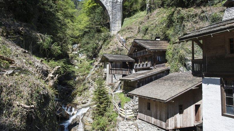 Le site des Vieux Moulins de la Tine sera ouvert au public à Troistorrents, mais sans animation.