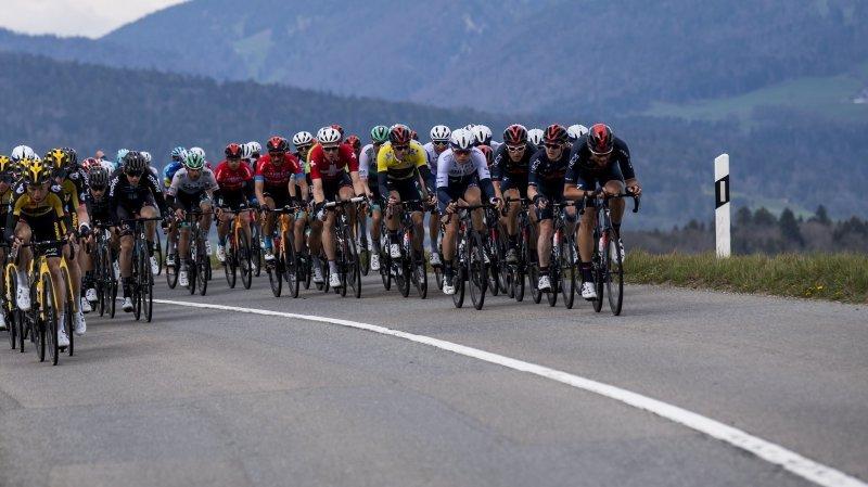 Pas d'étape prévue dans l'Arc jurassien prévue, pour l'instant, pour le Tour de Romandie 2022.