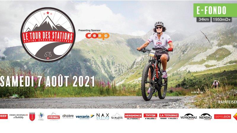 Le Tour des Stations - Alpine Cycling Festival