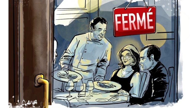 Coronavirus: comment des restaurants valaisans ouvrent discrètement leurs portes en dépit des interdits