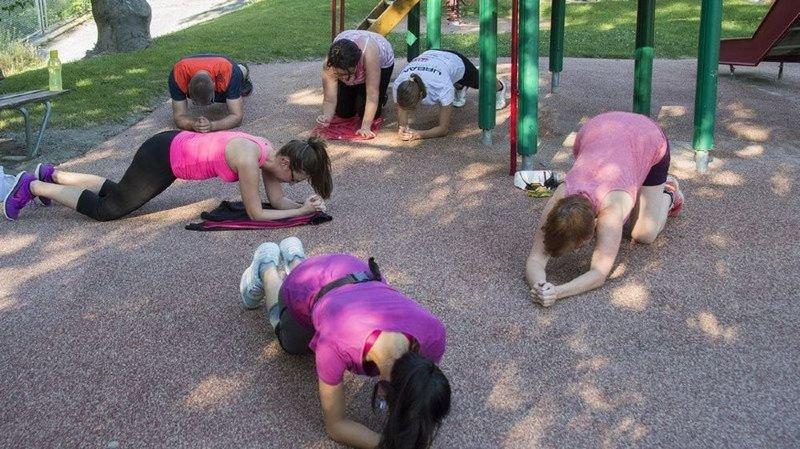 Faire du sport en groupe, en ville: c'est l'Urban Training.