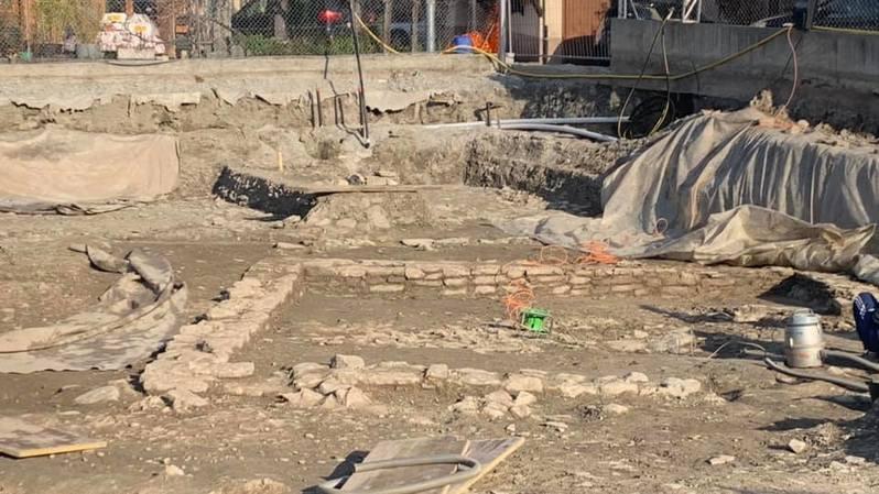 Archéologie: une maison romaine découverte à Veyras