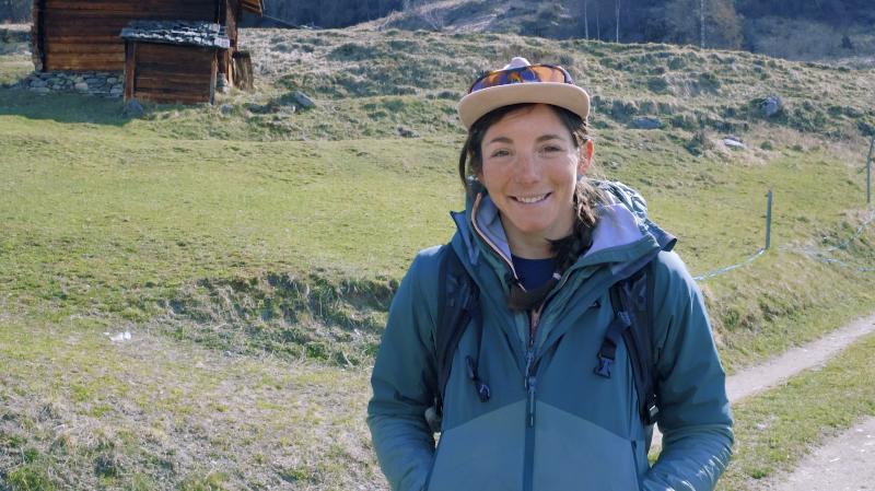 Accompagnatrice en moyenne montagne depuis 3 ans, Emilie Nussbaumer est également en formation pour devenir guide de haute montagne.