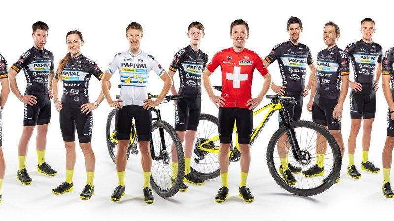 VTT: le team Papival, une vraie équipe tout terrain