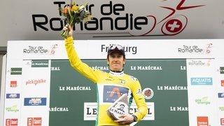 Cyclisme: Geraint Thomas a retrouvé le sourire après sa chute à Thyon