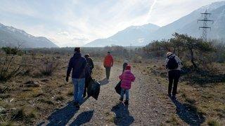 Valais: une semaine pour poutzer la nature autour de chez soi