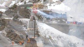 """Le """"Böögg"""" zurichois a brûlé dans les montagnes uranaises"""