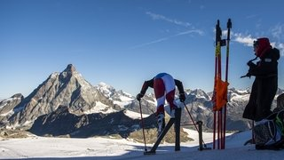 Coupe du monde de ski alpin: une course de tous les superlatifs entre Zermatt et Cervinia
