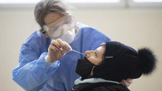Coronavirus: la Suisse compte 2141 nouveaux cas pour 23'812 tests, 8,99% de positivité, 13 morts