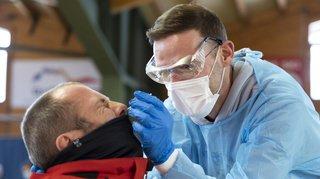 Coronavirus: la Suisse compte 2650 nouveaux cas en 72 heures pour 64'564 tests, 8 morts