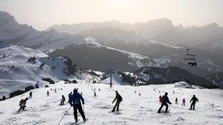 Remontées mécaniques: les Suisses ont compensé une partie des skieurs étrangers
