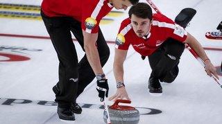 Curling: la Suisse en quart de finale du Mondial de Calgary
