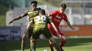 Super League: défait à Vaduz, le FC Sion se rapproche de la Challenge League