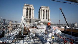 Restauration de Notre-Dame, retour du Philarmonique de New York, fresque à Rome: la galerie photos du 15 avril 2021