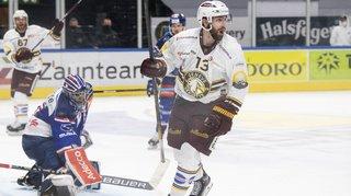 Hockey: Mathieu Vouillamoz libère le Genève-Servette HC qui file en finale