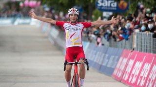 Cyclisme – Giro: le Français Lafay gagne la 8e étape et l'Australien Ewan abandonne