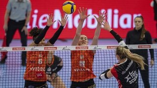 Volleyball: le NUC battue en finale face à Kanti Schaffhouse