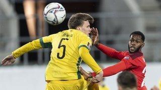 Football: l'équipe de Suisse donne une bouffée d'oxygène à Edimilson Fernandes
