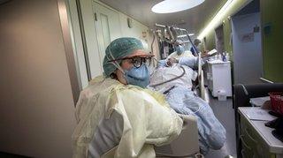 Covid-19: pourquoi les patients hospitalisés sont de plus en plus jeunes en Suisse romande