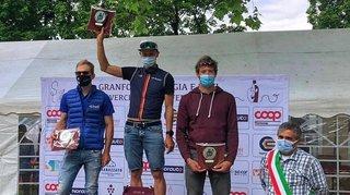 Cyclisme: un très long effort solitaire pour le coureur de Riddes Raphaël Addy