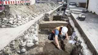 Fouilles à Massongex: un vaste entrepôt officiel d'époque romaine mis au jour