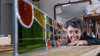Nos artisans ont du talent: Françoise Delavy-Bruchez voit la vie à travers le verre