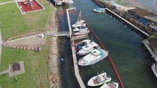 Le Bouveret: un bateau coule et provoque une pollution rapidement maîtrisée