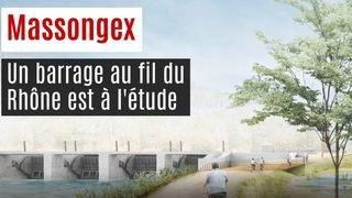 Massongex: un barrage au fil du Rhône au banc d'essai