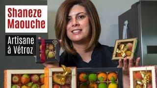 Nos artisans ont du talent: Shaneze Maouche et ses fruits en massepain