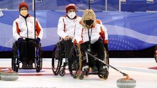 Curling en fauteuil roulant: la Suisse, avec deux Valaisans, retrouve l'élite grâce à sa médaille d'argent