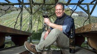 Chez Damian Seewer, à la Souste, la générosité au service du vin