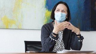 Conseil d'Etat: toujours observatrice, moins souvent faiseuse, la ministre valaisanne Esther Waeber-Kalbermatten s'en va