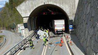 Stalden: un automobiliste valaisan décède dans une collision