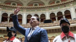 Conseil national: le Valaisan Michael Graber prête serment à Berne