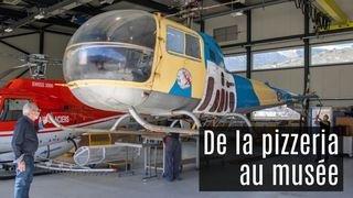 Hélicoptère Bell: de la pizzeria au futur musée sédunois