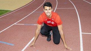Athlétisme: face au vent, le Valaisan Julien Bonvin tutoie le record U23 sur 300 mètres haies